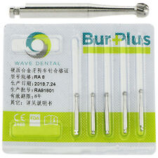 5 PCS Dental burs Slow speed Contra Angle Carbide RA 8