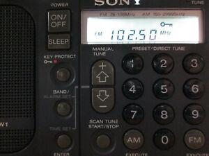 Sony ICF-SW1 World Radio Refurbished