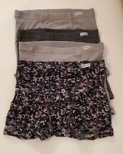 Fruit of the Loom Boys Covered Waistband Boxer Briefs 4 Pair Size XL