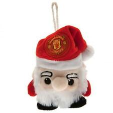 Manchester United Santa Tree Decoration Christmas Gift Official Licensed Product