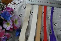 Textured TWILL HEMP Ribbon 5 Styles 3, 5 & 10 Metres 10-21mm Wide - Choice HT2D