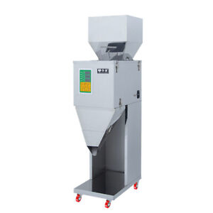 10-999G Automatic Powder Racking&Filling Machine Weigh Filler for Seed/Grain/Tea