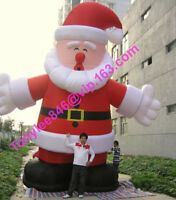 15ft tall giant Inflatable Santa Claus Blow Up Outdoor,UL blower include