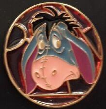 Disney Eeyore Stained Glass Circle Japan Disney Store pin