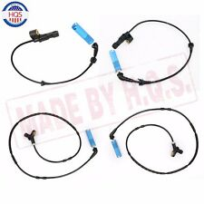 WHEEL ABS SPEED SENSORS 4PCS For BMW 320i 323ci 323i 325Ci FRONT REAR RIGHT LEFT