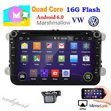 "Android 6.0 GPS 8"" Car Stereo DVD Player For VolksWagen VW MAGOTAN AMAROK BEETLE"