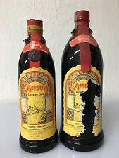 Lotto 2 Bottiglie Kahlua Licor De Cafe 70-75cl? 26.5% Vintage Timbro Venezuela