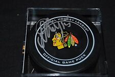 ARTEM ANISIMOV SIGNED OFFICIAL NHL HOCKEY PUCK AUTO - CHICAGO BLACKHAWKS - COA