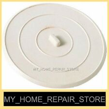 """BIGGER & THICKER !   LARGE 5"""" COMMERCIAL GRADE RUBBER KITCHEN SINK DRAIN STOPPER"""