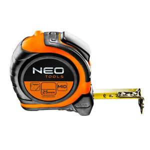Neo Tools Double Sided Tape Measure Magnetic Tip - METRIC ONLY-  Size: 5m