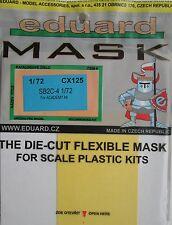 Eduard 1/72 cx125 Maschera Canopy per l'Accademia CURTISS sb2c-4 Helldiver kit