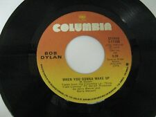 Bob Dylan when you gonna wake up / man gave names to all the animals 45 Record