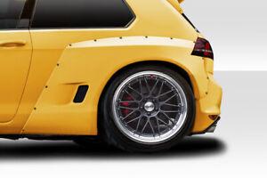15-19 Volkswagen Golf TKO RBS Duraflex 70mm Rear Fender Flares!!! 115714