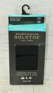 Gold Toe Men's Over the Calf MILD Compression Socks Size 6-12.5 - Single Pair