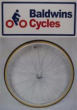 "27"" x 1 1/4 FRONT Q/R Bike Wheel + Premium Amber Wall Tyre"