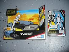 Star Wars Rise of Skywalker - Quick Draw Jet Trooper & Treadspeeder w/ Driver