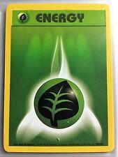 99/102 GRASS ENERGY ORIGINAL 1999 BASE Pokemon Card NEVER USED/PLAYED NM-M