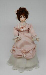 Vintage Porcelain Victorian Lady Doll Artisan Dollhouse Miniature 1:12