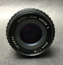 Nikon Series E 50mm 1:1.8 Lens f1.8