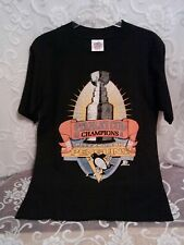 Pittsburgh Penguins Vintage 1991 Stanley Cup Champions T-Shirt Medium 38-40 GUC