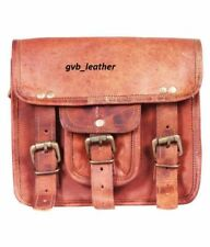Genuine Leather Handbag Attractive Briefcase Crossbody Shoulder Bag Messenger