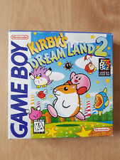 Kirby's Dream Land 2 - CIB - USA - RARE - complete - nintendo Gameboy