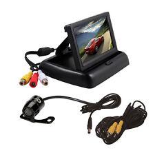 "Universal Car Rear View Reverse Back UP Parking Camera + 4.3"" TFT LCD Monitor"