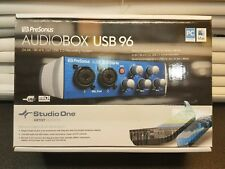 PreSonus AudioBox USB 96 2x2 USB Home Studio Audio Recording System 24bit 96kHz✅