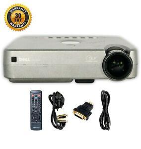 Dell 3100MP DLP Projector (Portable) HDMI-adapter HD 1080i Accessories bundle