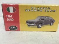 Atlas Editions Fiat Dino Classic Sports Car 1:43 Die Cast Scale Model *Sealed*