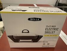 Bella (Model 22858) Electric Skillet - Black