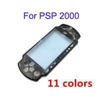 11 Colors For PSP 2000 New Housing Front Faceplate Case Shell Cover With Logo