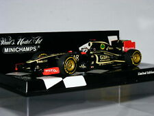 Minichamps Lotus Renault F1 Team 2012 Showcar Kimi Räikkönen LTD ED 1/43