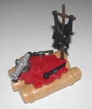 Playmobil Pirate Radeau à Voile Noir avec Canon NEW