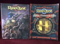 2 X Runequest Books Price Of Honour, Guilds Factions & Cults 2009
