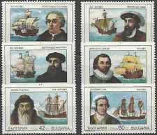 Timbres Bateaux Bulgarie 3292/7 ** lot 18187