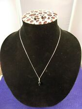 #2 of 2, EXCELLENT PAIR OF 14K GOLD & ONYX STUD EARRINGS & PENDANT + GF NECKLACE