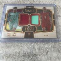Cristiano Ronaldo,Pepe Select Soccer Card NM-EX Double Team Memorabilia Patch