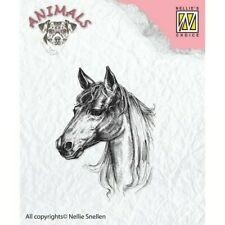 Tampon Clear Transparent Cheval Scrapbooking Carterie Nellie's Choice