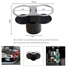 Car Seat ABS Cup 2 Holder Drink Beverage Coffee Auto Truck Bottle Mount Stand