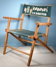 1950 Foodini the Great TV Director Chair Bunin TV Puppet Show Premium Magician