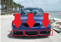 BMW NEW GENUINE FRONT BUMPER LOWER GRILL SET FIT 3 SERIES E90 E91 M Sport 05-08