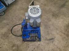 MONARCH BUCHER HYDRAULICS ELECTRIC HYDRAULIC PUMP 1-1/2hp HIGH PSI M404