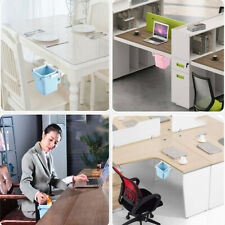 Household Retractable Folding Hidden Waste Bin Kitchen Office Desk Trash Cans Pr