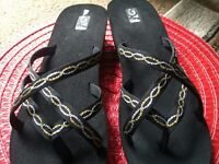 women wedge sandals size 11