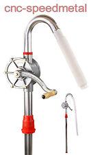 Aluminium Fasspumpe Faßpumpe Heizölpumpe Dieselpumpe Kurbelfasspumpe Öl , 01404