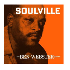 The Ben Webster Quintet : Soulville VINYL (2015) ***NEW*** Gift Idea