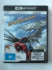 Spider-Man Homecoming (4K Blu-ray, 2017, 2-Disc Set) Brand New & Sealed Movie