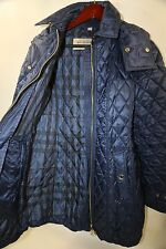 #214  Burberry Bellbridge Quilted Trench Parka Size S  RETAIL $895 PLUS TAX