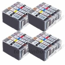 20 Pk Ink Cartridge For Canon PGI-5BK CLI-8 PIXMA MP810 MP830 MP950 MP960 MP970